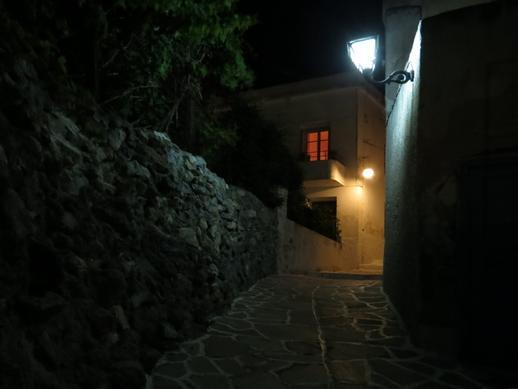 a lane in Naxos