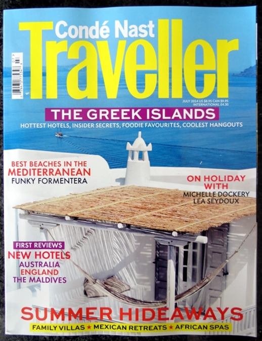 Conde Nast Traveller July 2014
