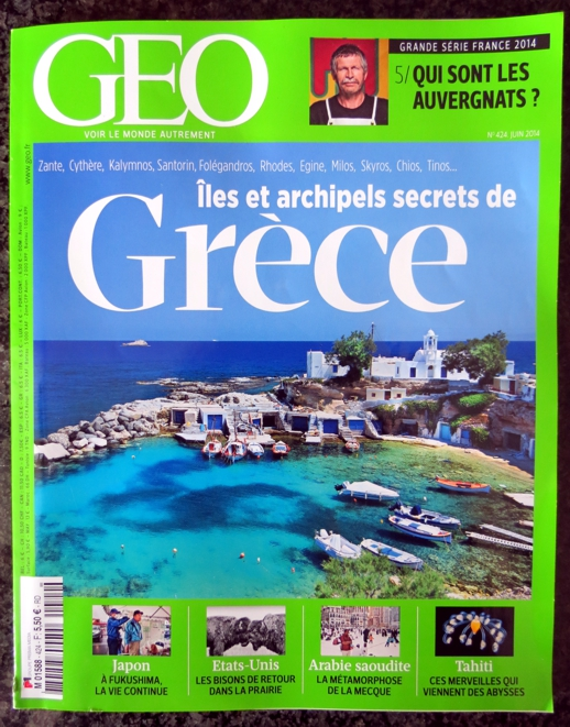 GEO magazine June 2014 cover