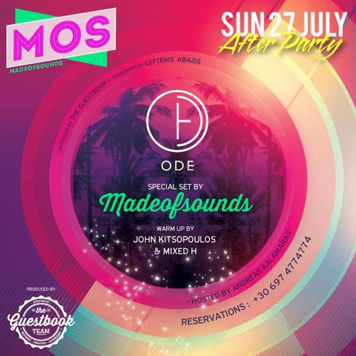 MadeofSounds set at ODE Mykonos