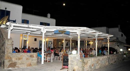 Mpalothies taverna Mykonos