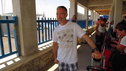 Naxos ferry port