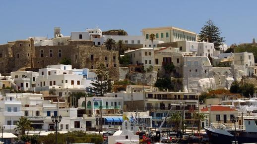 Naxos Town and the Naxos Castle