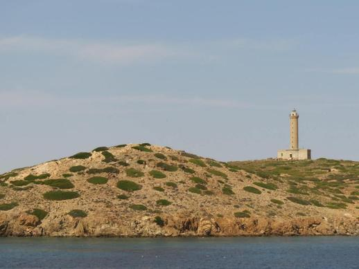 Gaidaros Lighthouse on Didimi island