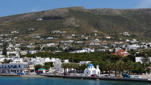 Parikia town on Paros