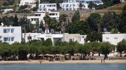 Livadia beach on Paros