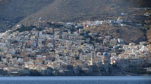 Vrontadou area of Syros
