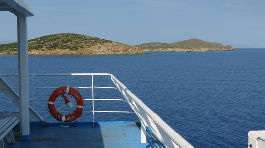 Stroggilo and Gaidonouronisi islands
