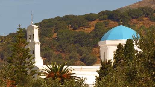 a church near Chalki