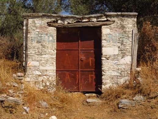 a shed near Chalki