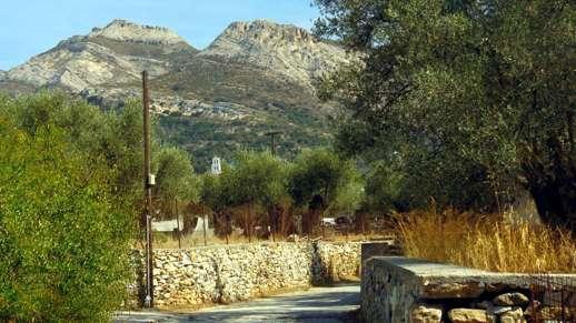 a road near Chalki
