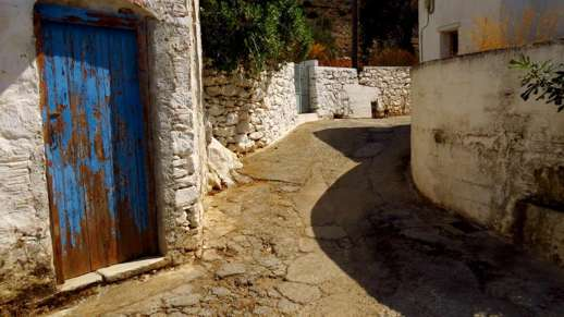a road in Kerami village