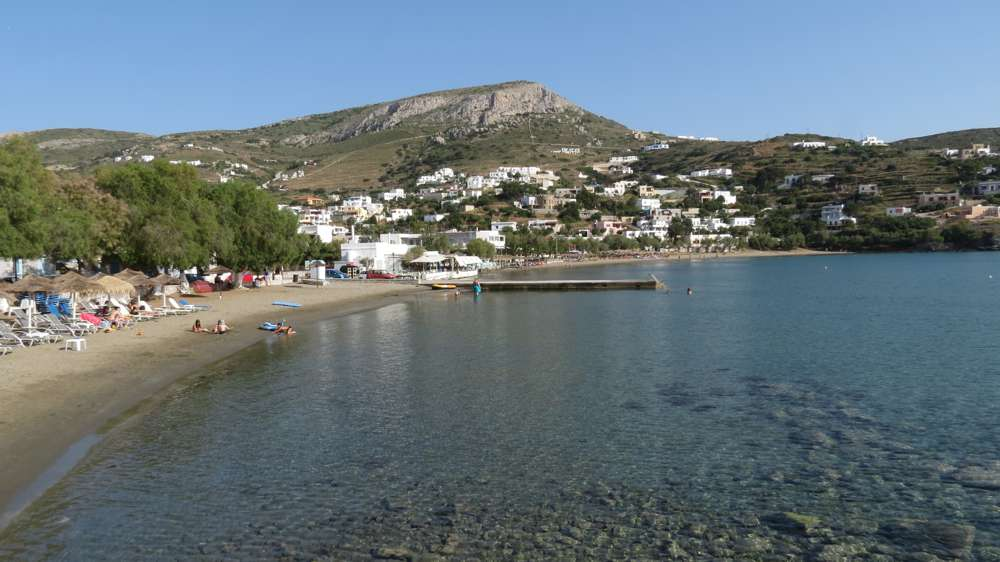 Kini beach on Syros