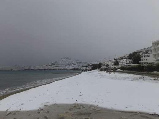 Kionia beach Tinos