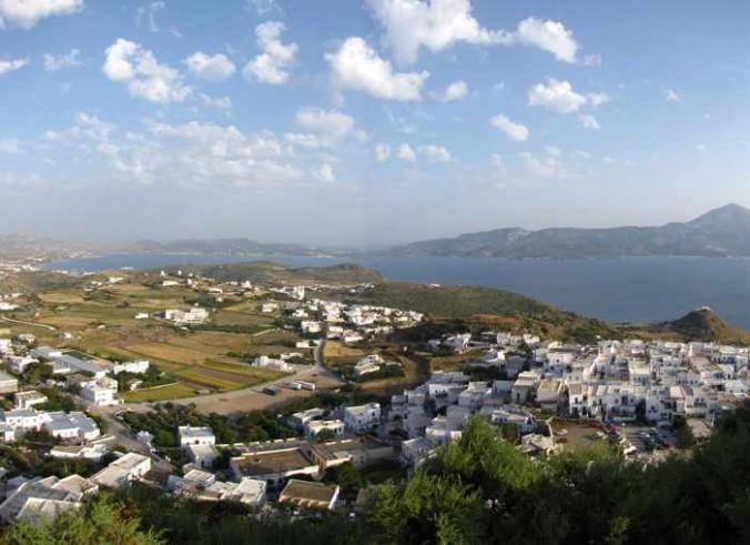 Kastro view of Milos