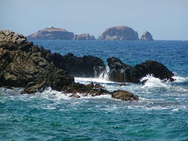 Paros coast