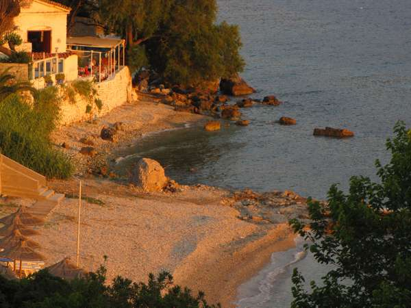 Roditses beach and Tasos Taverna