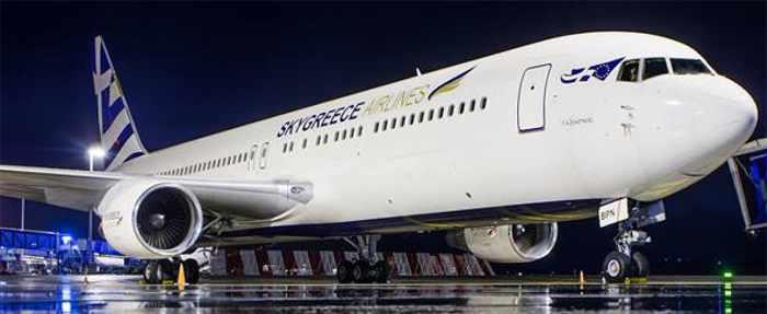 SkyGreece Airlines Boeing jeet