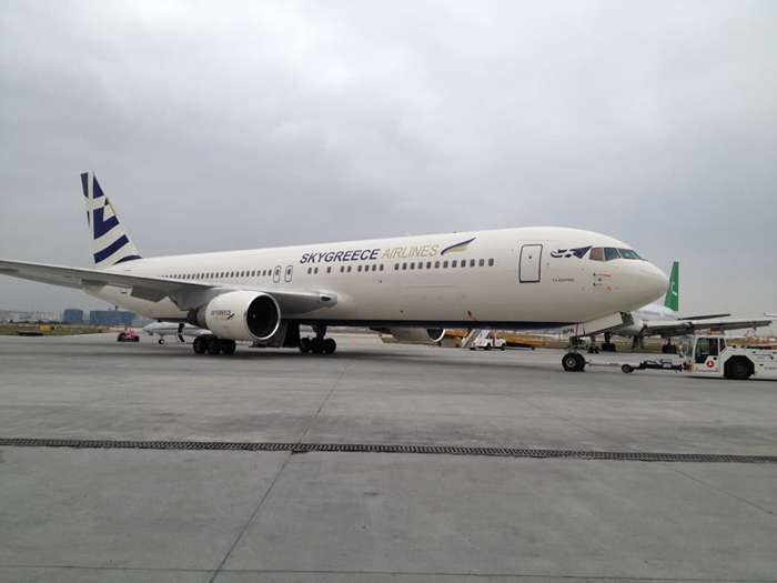 SkyGreece Airlines aircraft