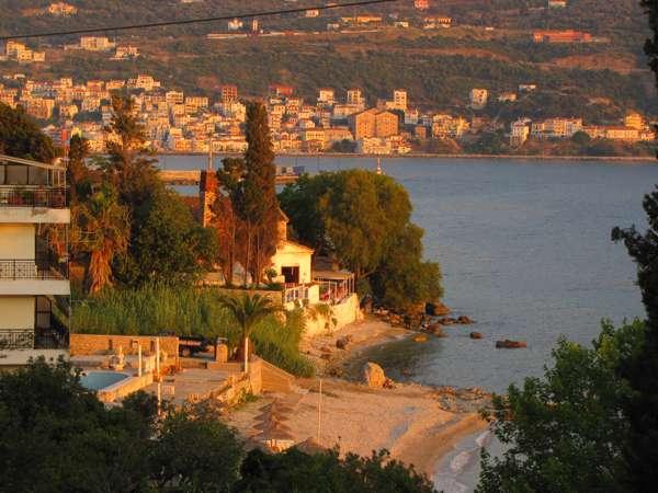 Roditses beach on Samos