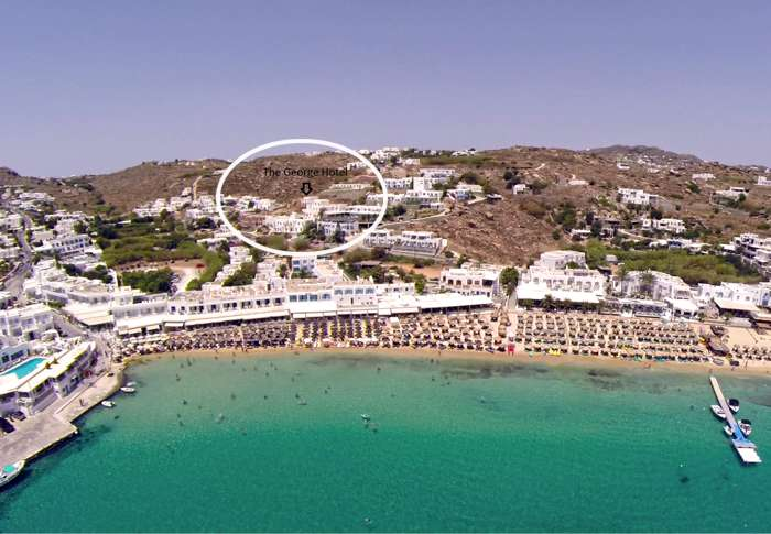 Mykonos Beach Hotel Website