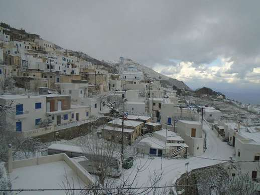 Naxos mountain village