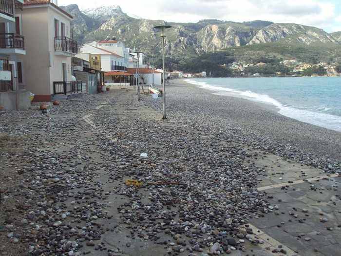 Long Beach at Kokkari Samos