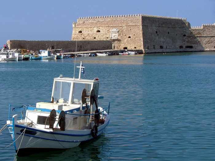 Koules fortress Heraklion