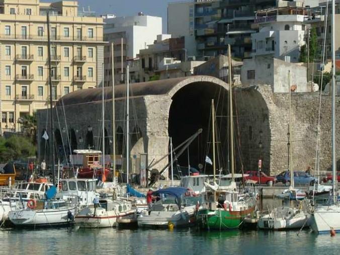 Heraklion harbourfront