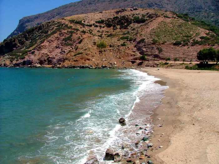 beach on Crete