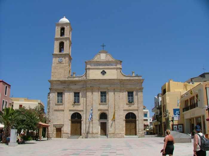 a church in Chania
