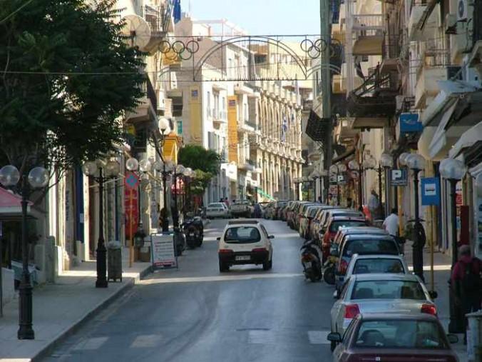 a street in Heraklion
