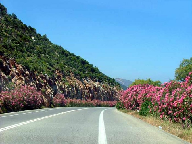 highway on Crete