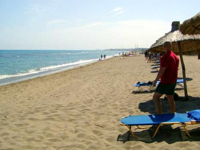 Candia Maris beachfront