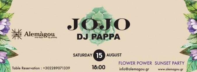 Alemagou Mykonos Flower Power Sunset Party