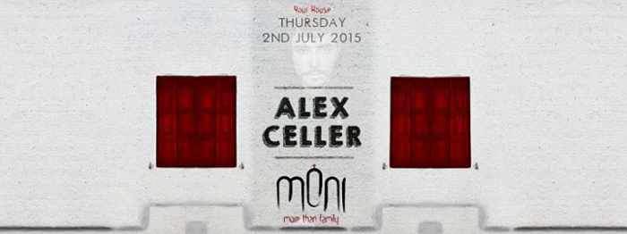 Alex Celler at Moni nightclub Mykonos July 2 2015