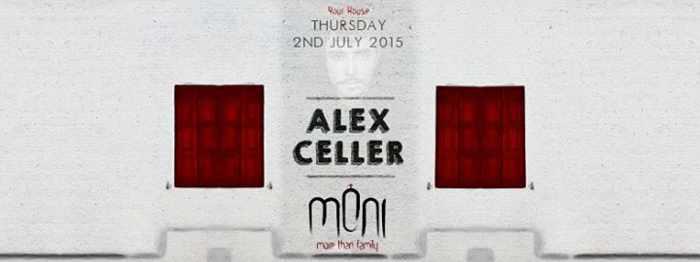Alex Celler at Moni nightclub Mykonos July 2 2015