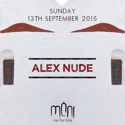 Alex Nude at Moni Mykonos