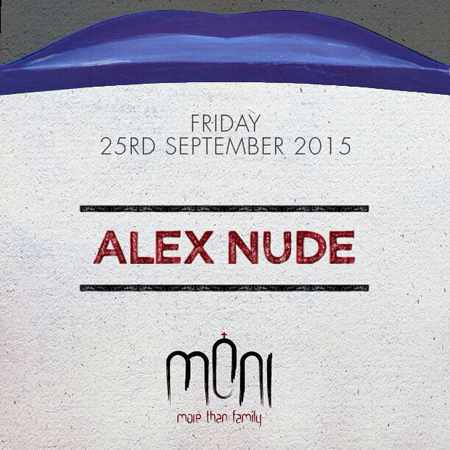 Alex Nude at Moni nightclub Mykonos