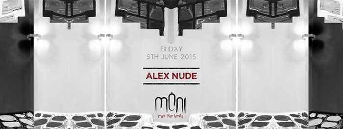 Alex Nude spins at Moni nightclub Mykonos on June 5 2015