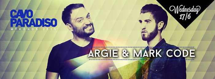 Argie & Mark Code spin at Cavo Paradiso June 17 2015