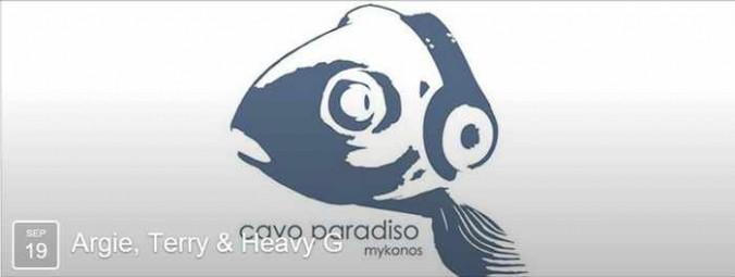Argie, Terry & Heavy G at Cavo Paradiso Mykonos