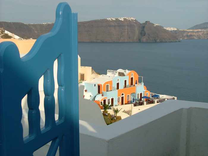 Armeni Village resort at Oia