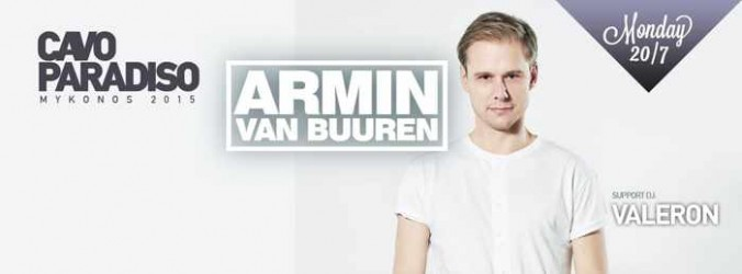 Armin Van Buuren at Cavo Paradiso