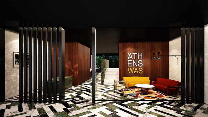 New luxury hotel opening in athens my greece travel blog for Designhotel athen