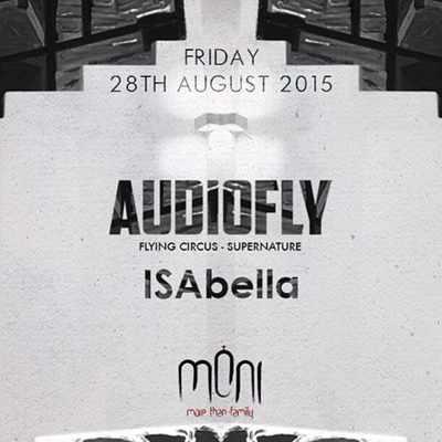 Audiofly and ISAbella at Moni nightclub Mykonos
