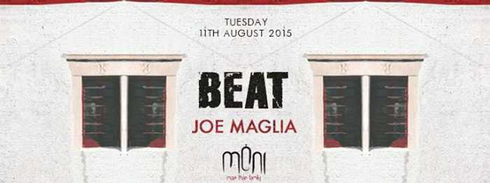 Beat party with Joe Maglia at Moni nightclub Mykonos
