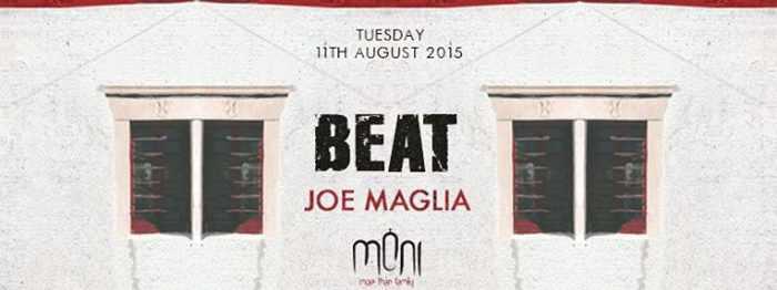 Beat party with Joe Maglia at Moni nightclub Mykonos