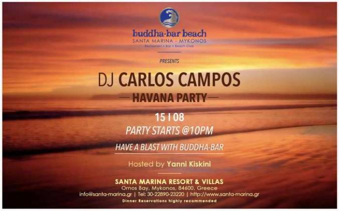 Havana Party at Buddha-Bar Beach