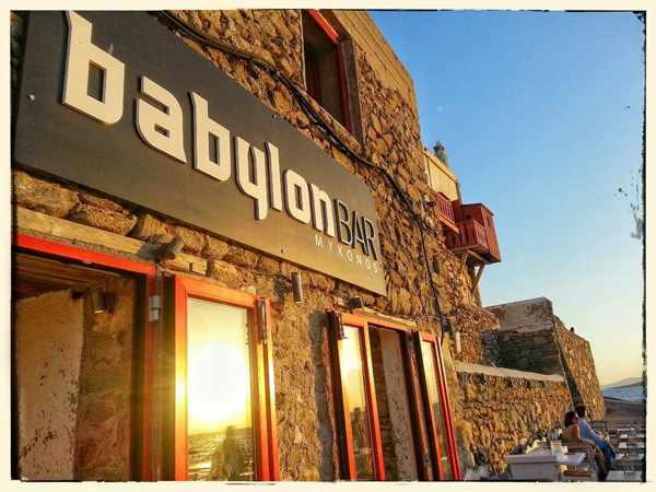 Babylon Bar Mykonos